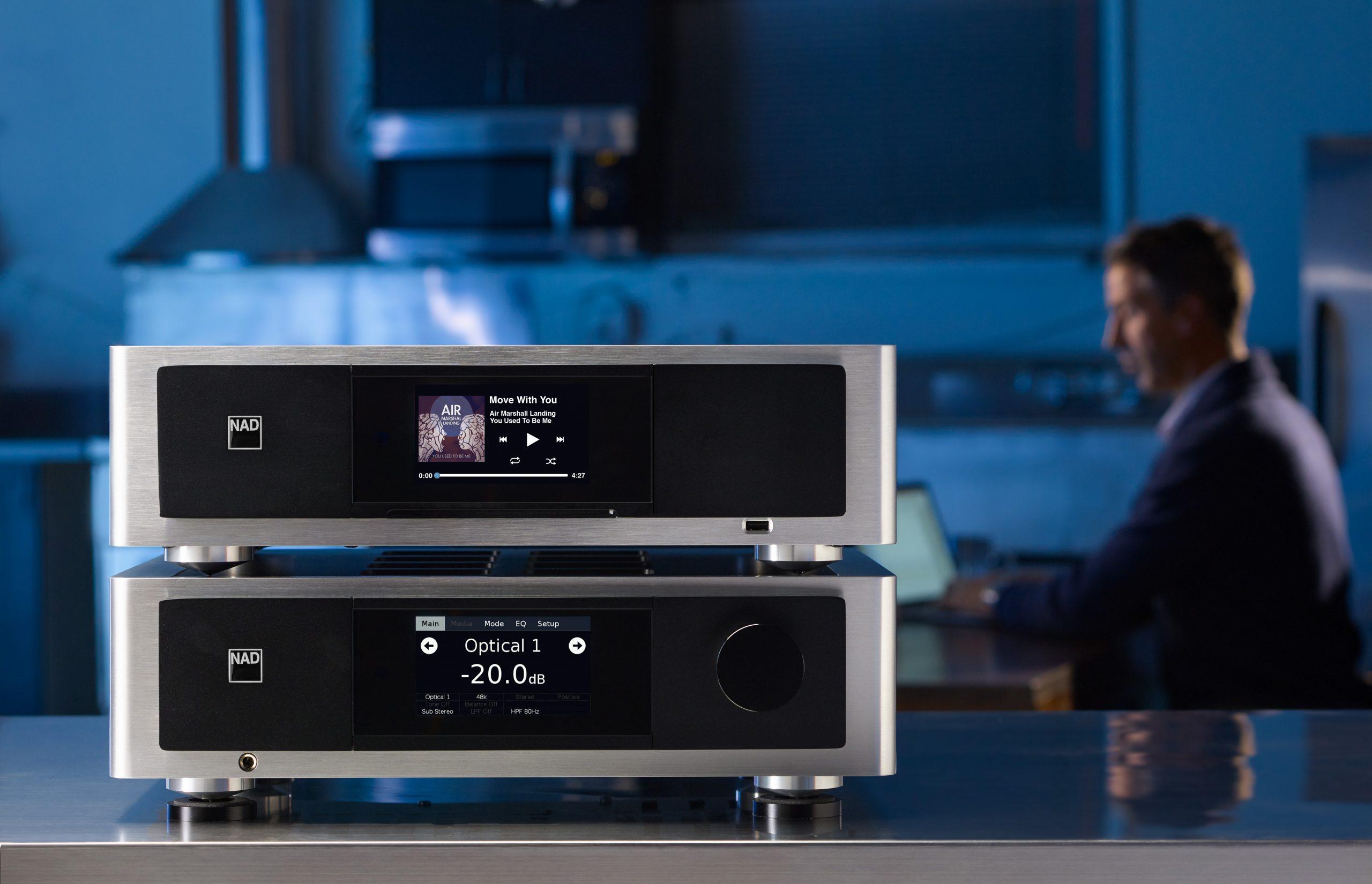 NAD electronics colombia bluos audiofilo hifi audio multizona